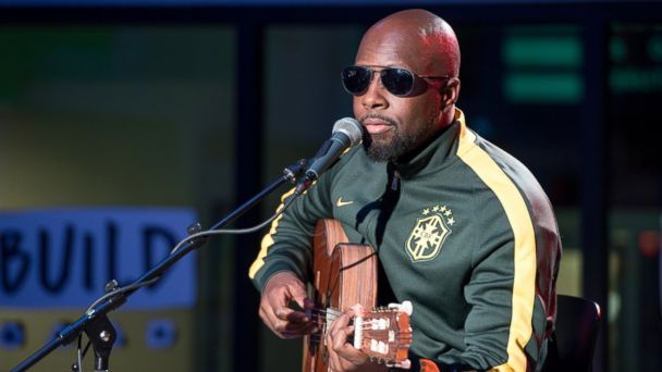 PHOTO: Musician Wyclef Jean visits Build Series to discuss his new EP