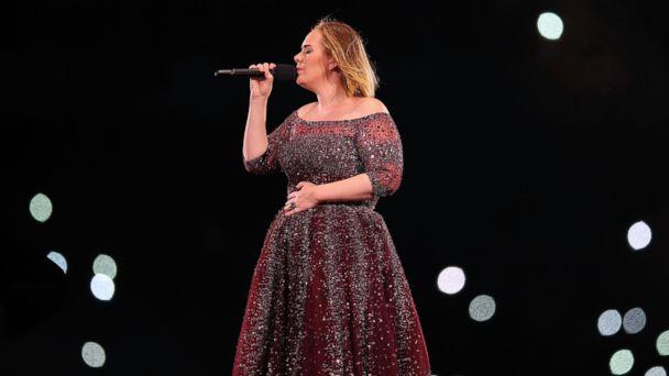 PHOTO: Adele performs at Etihad Stadium on March 18, 2017 in Melbourne, Australia.