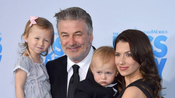 PHOTO: Carmen Gabriela Baldwin, Alec Baldwin, Leonardo Angel Charles Baldwin and Hilaria Baldwin attend