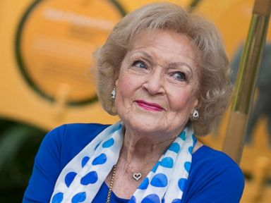 PHOTO: Betty White attends the media preview for Greater Los Angeles Zoo Associations Beastly Ball fundraiser at Los Angeles Zoo on June 11, 2015 in Los Angeles.