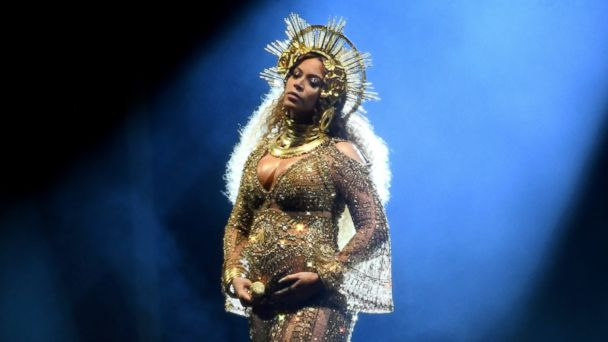 PHOTO: Recording artist Beyonce performs onstage during The 59th GRAMMY Awards at STAPLES Center, Feb. 12, 2017 in Los Angeles.