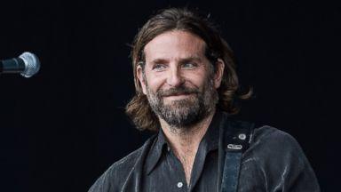 Bradley Cooper crashes Glastonbury Festival