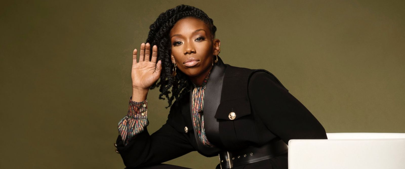 PHOTO: Brandy Norwood in Washington, D.C., March, 31, 2017.