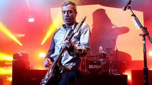 PHOTO: Gavin Rossdale of Bush performs at O2 Shepherds Bush, March 14, 2017, in London.