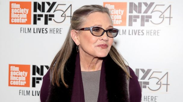 PHOTO: Carrie Fisher attends the 54th New York Film Festival 'Bright Lights' screening at Alice Tully Hall, Oct. 10, 2016, in New York City.