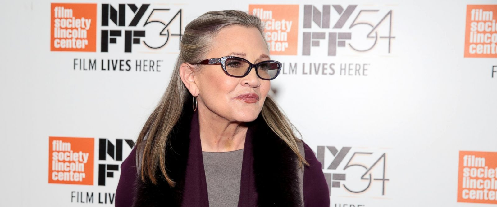 PHOTO: Carrie Fisher attends the 54th New York Film Festival Bright Lights screening at Alice Tully Hall, Oct. 10, 2016, in New York City.