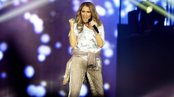 PHOTO: Celine Dion performs during the opening night of her