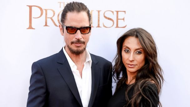 PHOTO: Musician Chris Cornell and Vicky Karayiannis arrive to the Los Angeles premiere of