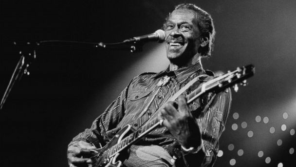 PHOTO: Chuck Berry performs at the North Sea Jazz Festival in the Hague, Netherlands on July 14, 1995.