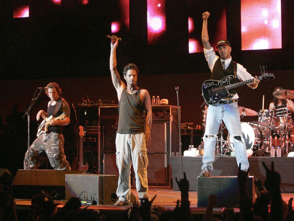 PHOTO: Chris Cornell and Audioslave in 2005.