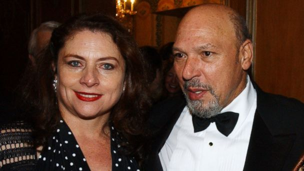 PHOTO: Constanza Romero and August Wilson arrive at the opening of
