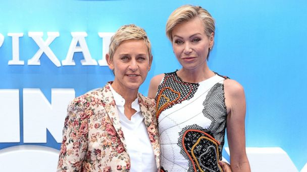 PHOTO: Ellen DeGeneres and Portia de Rossi attend the UK Premiere of