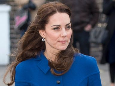 Duchess Kate Visits Parenting Center in London
