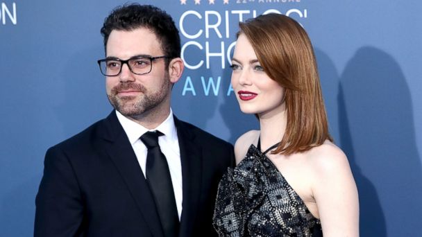 PHOTO: Spencer Stone and actress Emma Stone attend the 22nd Annual Critics' Choice Awards at Barker Hangar, Dec. 11, 2016, in Santa Monica, Calif.