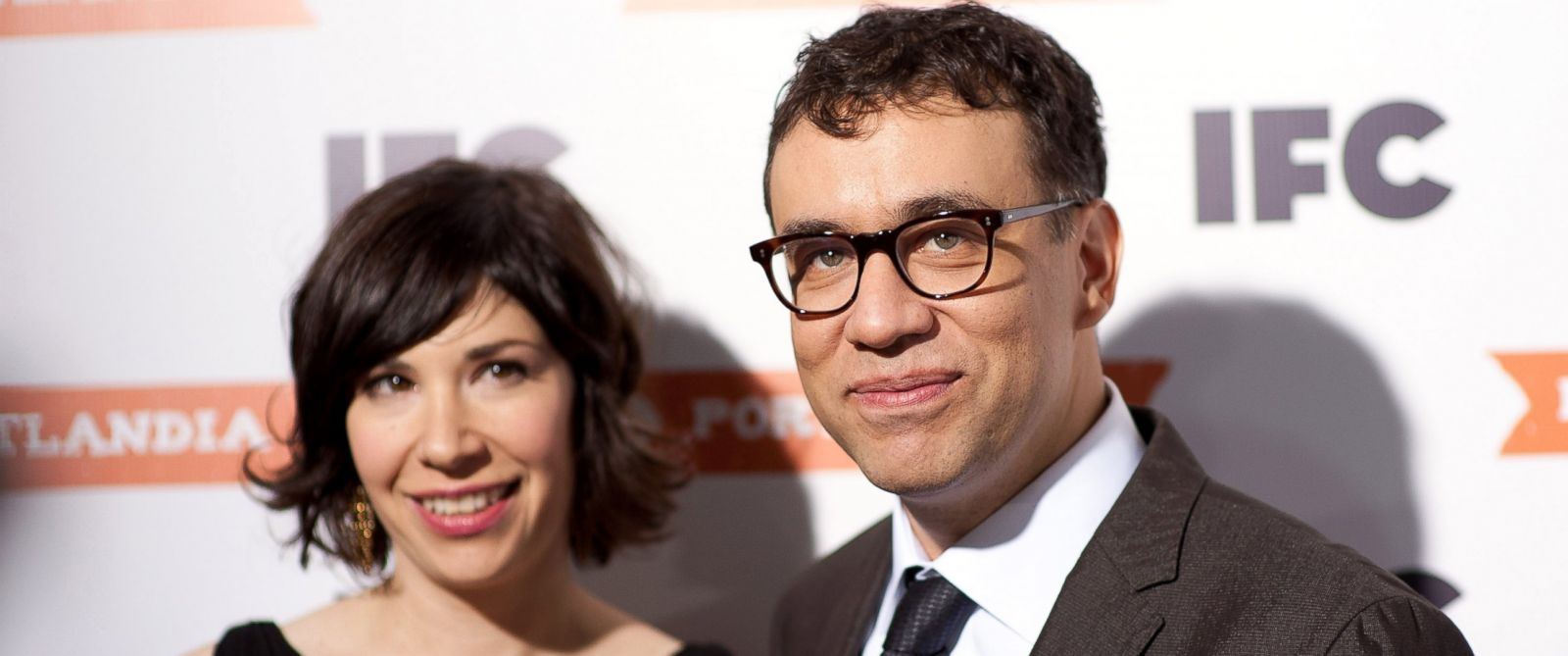 "PHOTO: Carrie Brownstein and Fred Armisen attend a special screening of ""Portlandia"" at The Edison Ballroom, Jan. 19, 2011, in New York City."