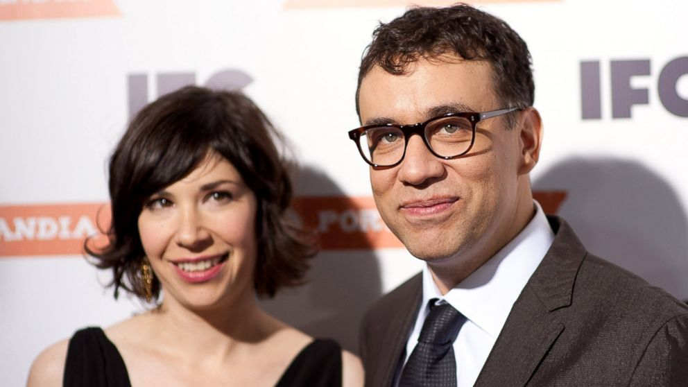PHOTO: Carrie Brownstein and Fred Armisen attend a special screening of