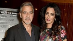 George and Amal Clooney Step Out in London
