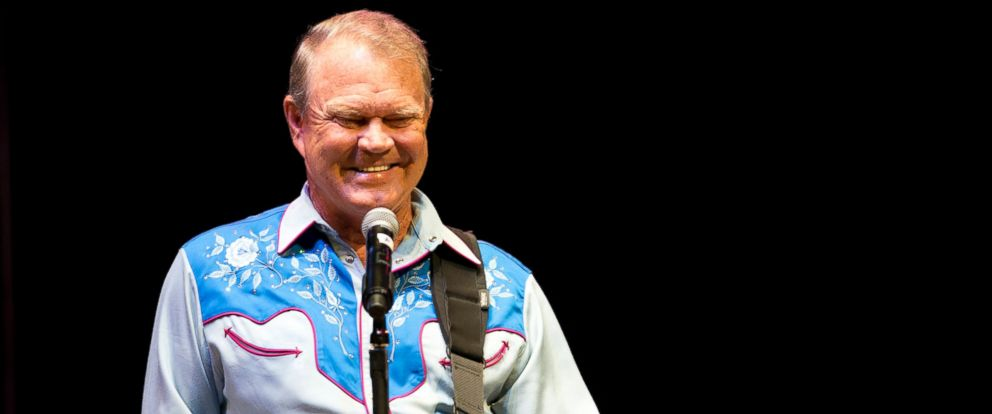 "PHOTO: Glen Campbell performs in Cary, N.C. during his ""The Goodbye Tour,"" July 21, 2012. Campbell was diagnosed with Alzheimers in 2011."