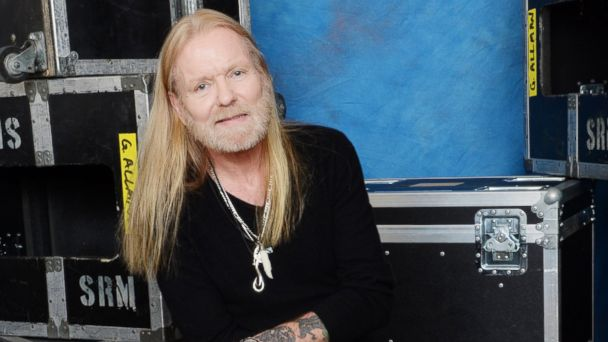 PHOTO: Gregg Allman poses for a portrait at All My Friends: Celebrating the Songs & Voice of Gregg Allman at The Fox Theater, Jan. 10, 2014 in Atlanta.