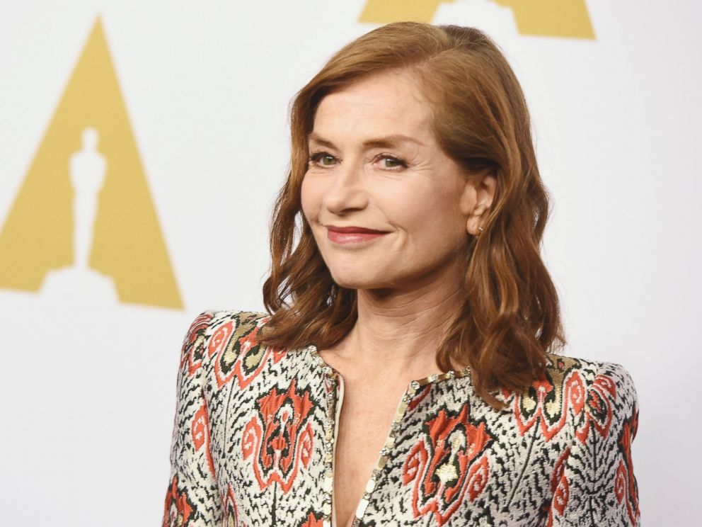 PHOTO: Isabelle Huppert attends the 89th Annual Academy Awards Nominee Luncheon at The Beverly Hilton Hotel, Feb. 6, 2017, in Beverly Hills, California.