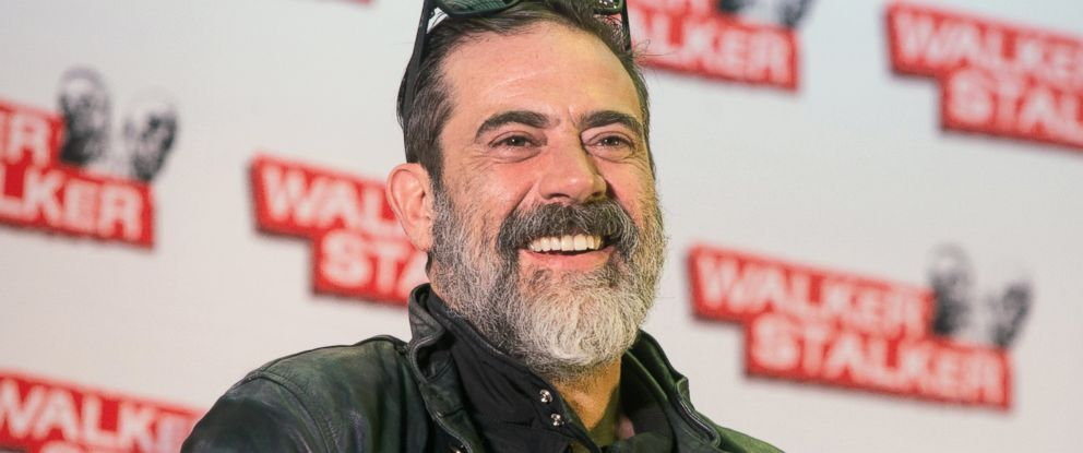 PHOTO: Jeffrey Dean Morgan takes part in a panel on day two of the Walker Stalker convention at London Olympia, March 5, 2017 in London.