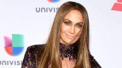 Jennifer Lopez Wears Sheer Dress to the Latin Grammys