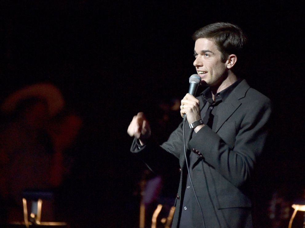 PHOTO: John Mulaney performs onstage during The David Lynch Foundations DLF Live Celebration of the 60th Anniversary of Allen Ginsbergs HOWL with Music, Words, and Funny People at The Theatre at Ace Hotel, April 7, 2015, in Los Angeles.