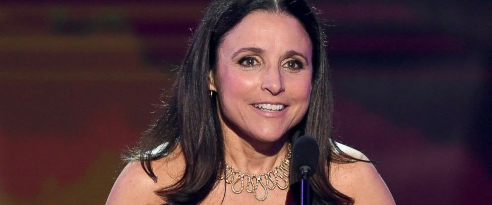 "PHOTO: Julia Louis-Dreyfus accepts Outstanding Performance by a Female Actor in a Comedy Series for ""Veep"" onstage during The 23rd Annual Screen Actors Guild Awards at The Shrine Auditorium, Jan. 29, 2017, in Los Angeles."