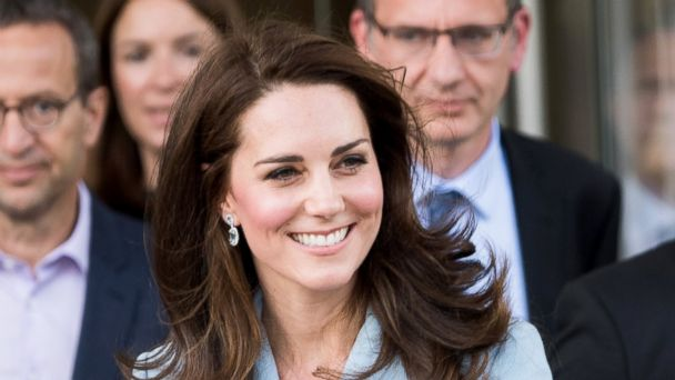 PHOTO: Catherine, Duchess of Cambridge departs the Grand Duke Jean Museum of Modern Art where she viewed exhibitions by British artists Sir Tony Cragg and Darren Almond during a one day