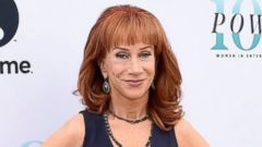 Kathy Griffin Celebrates Women at a Hollywood Reporter Breakfast