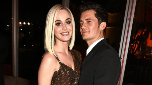 PHOTO: Singer Katy Perry and actor Orlando Bloom attend the 2017 Vanity Fair Oscar Party hosted by Graydon Carter at Wallis Annenberg Center for the Performing Arts, Feb. 26, 2017, in Beverly Hills, Calif.