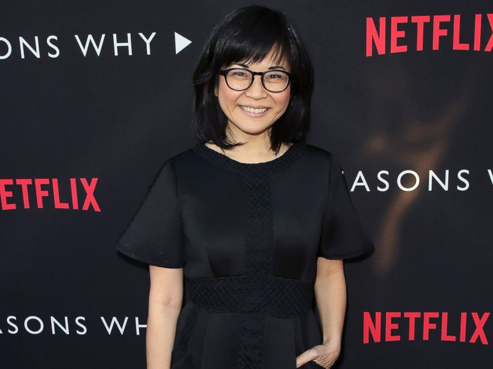 PHOTO: Keiko Agena attends the premiere of Netflixs 13 Reasons Why at Paramount Pictures, March 30, 2017 in Los Angeles.