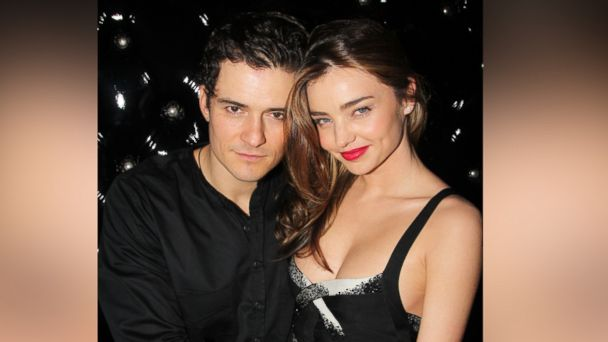 PHOTO: Orlando Bloom and Miranda Kerr attend the after party for the Broadway opening night of