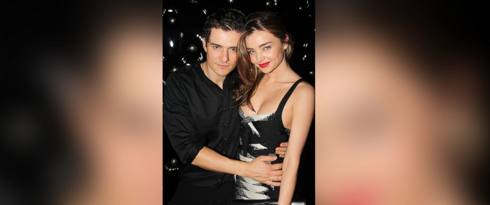 "PHOTO: Orlando Bloom and Miranda Kerr attend the after party for the Broadway opening night of ""Shakespeares Romeo And Juliet,"" Sept. 19, 2013, in New York City."