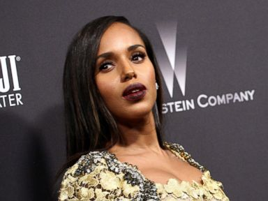 PHOTO: Kerry Washington attends The Weinstein Company and Netflix Golden Globe Party, at The Beverly Hilton Hotel, Jan. 8, 2017, in Beverly Hills, California.