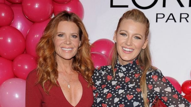 PHOTO: Robyn Lively and Blake Lively attend the L'Oreal Paris Paints + Colorista launch event, Feb. 13, 2017, in New York City.