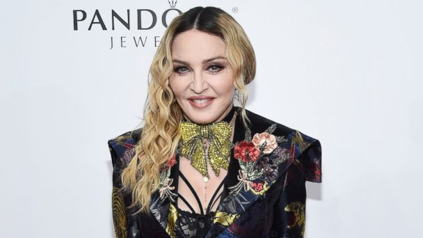 PHOTO: Madonna attends Billboard Women In Music 2016 at Pier 36, Dec. 9, 2016 in New York City.