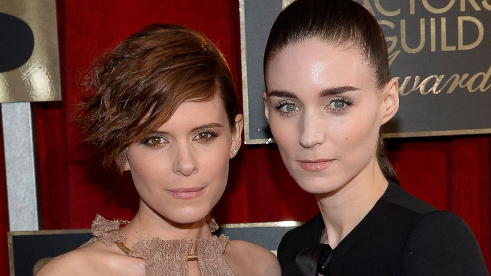 PHOTO: Kate Mara and Rooney Mara attend the 22nd Annual Screen Actors Guild Awards at The Shrine Auditorium, Jan. 30, 2016, in Los Angeles.