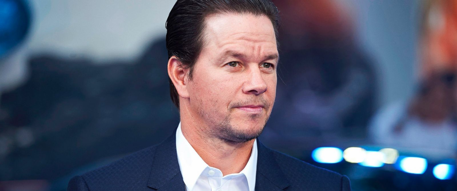PHOTO: Mark Wahlberg poses upon arrival for the global premiere of the film Transformers: The Last Knight in central London, June 18, 2017.