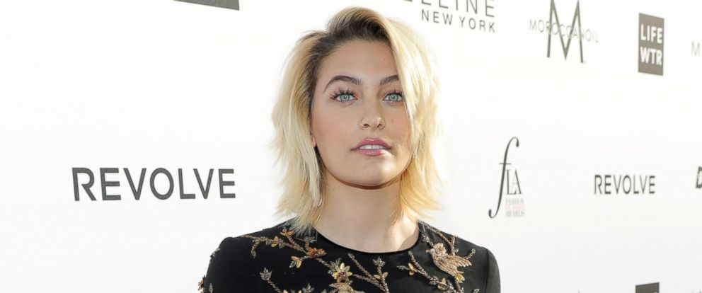 PHOTO: Paris Jackson attends the Daily Front Rows 3rd Annual Fashion Los Angeles Awards at Sunset Tower Hotel, April 2, 2017, in West Hollywood, California.