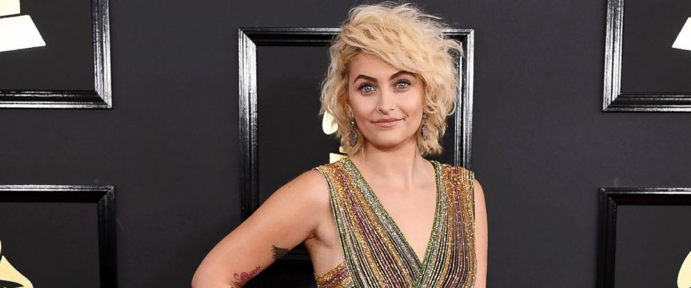 PHOTO: Paris Jackson arrives at the 59th GRAMMY Awards at the Staples Center, Feb. 12, 2017, in Los Angeles.