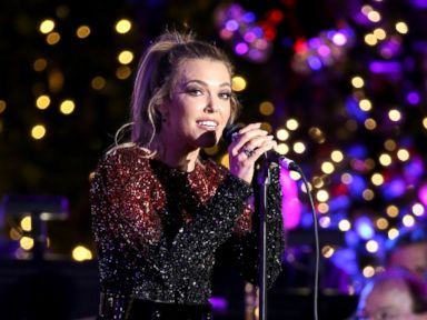PHOTO: Rachel Platten performs onstage, Nov. 13, 2016, in Los Angeles, California.