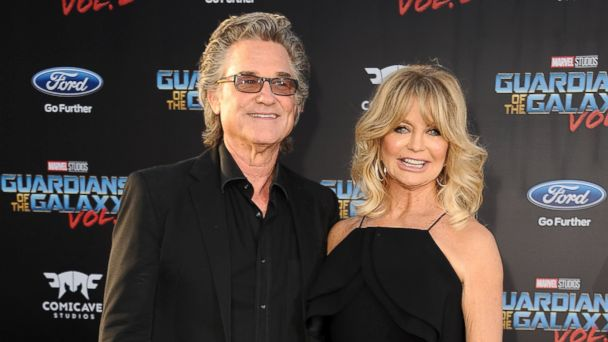 PHOTO: Kurt Russell and Goldie Hawn attend the premiere of