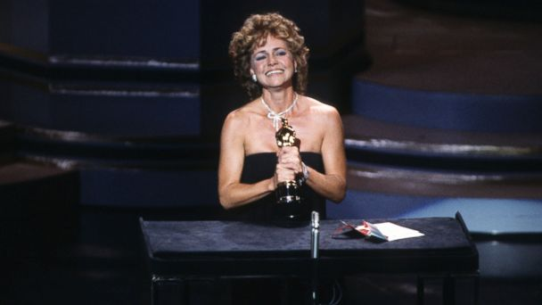 PHOTO: Sally Field wins the Best Actress award for