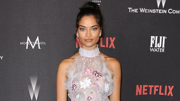 PHOTO: Shanina Shaik attends the 2017 Weinstein Company and Netflix Golden Globes after party, Jan. 8, 2017 in Los Angeles.