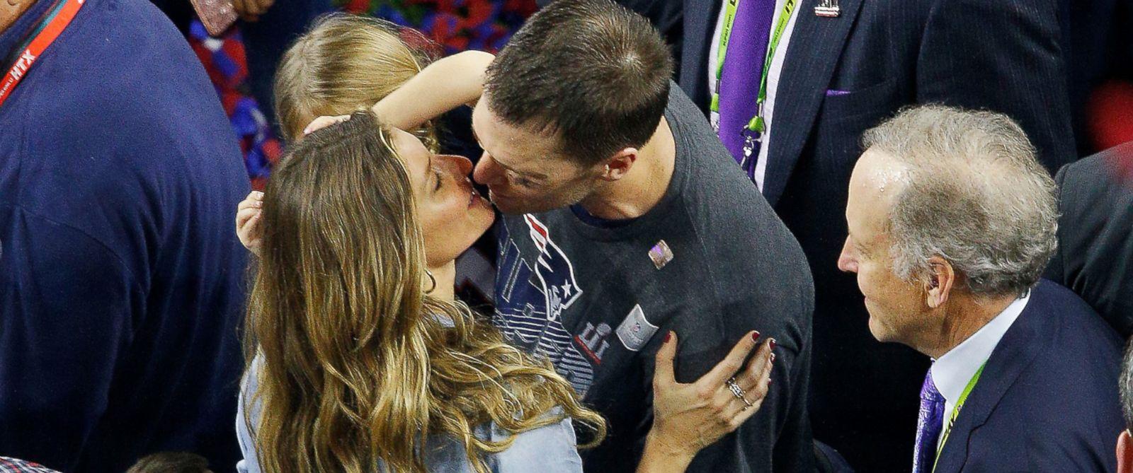 How Tom Brady And Gisele Bundchen Celebrated Patriots