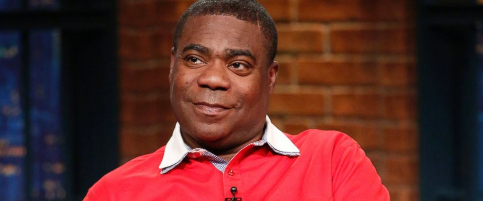 """PHOTO: Comedian Tracy Morgan is pictured on """"Late Night with Seth Meyers,"""""""