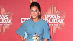 Vanessa Williams Sparkles In Blue and Gold
