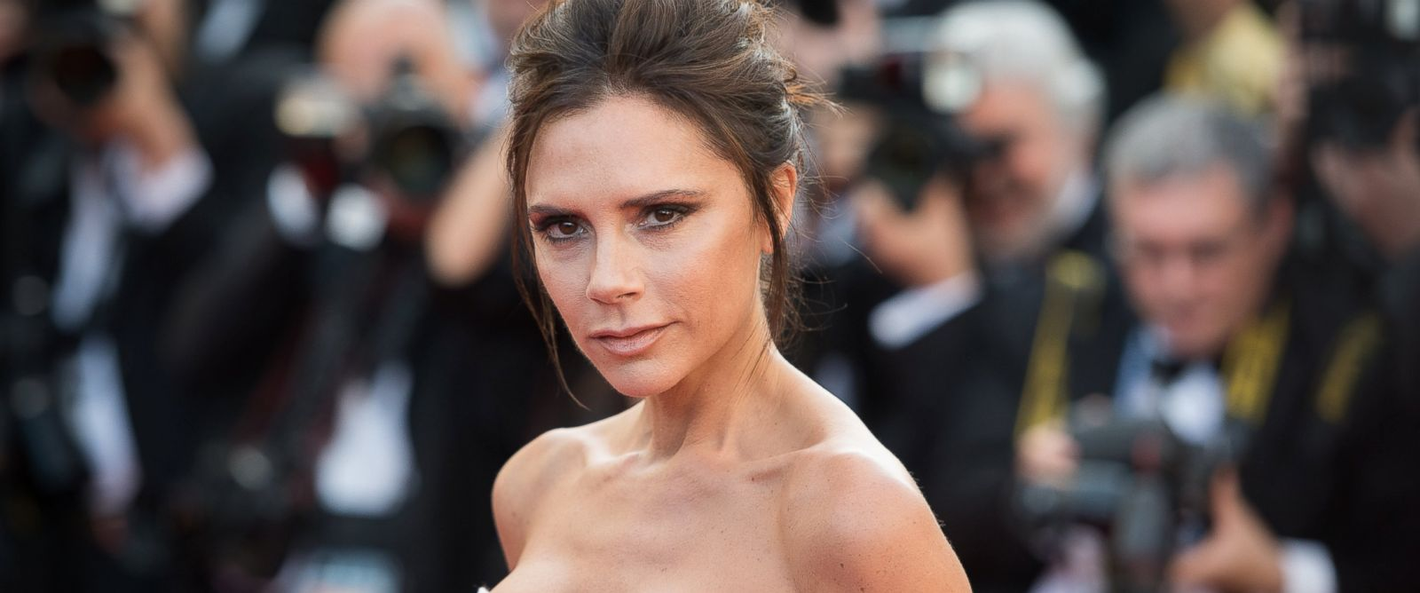 "PHOTO: Victoria Beckham attends the screening of ""Cafe Society"" at the opening gala of the annual 69th Cannes Film Festival at Palais des Festivals, May 11, 2016, in Cannes, France."