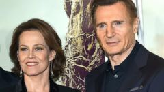 Sigourney Weaver and Liam Neeson Promote New Movie